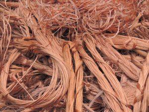 Chatarra de cobre nuevo hilo