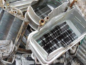 Chatarra de calderín de cobre de calentador