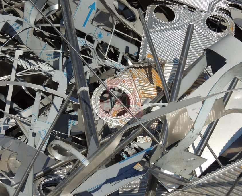 Chatarra de Acero Inoxidable en Recemsa