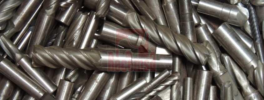 Brocas de acero rápido en chatarrería