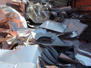 Aluminio offset para reciclar en chatarrería