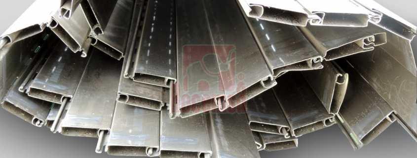 Persianas de aluminio sin espuma para reciclar