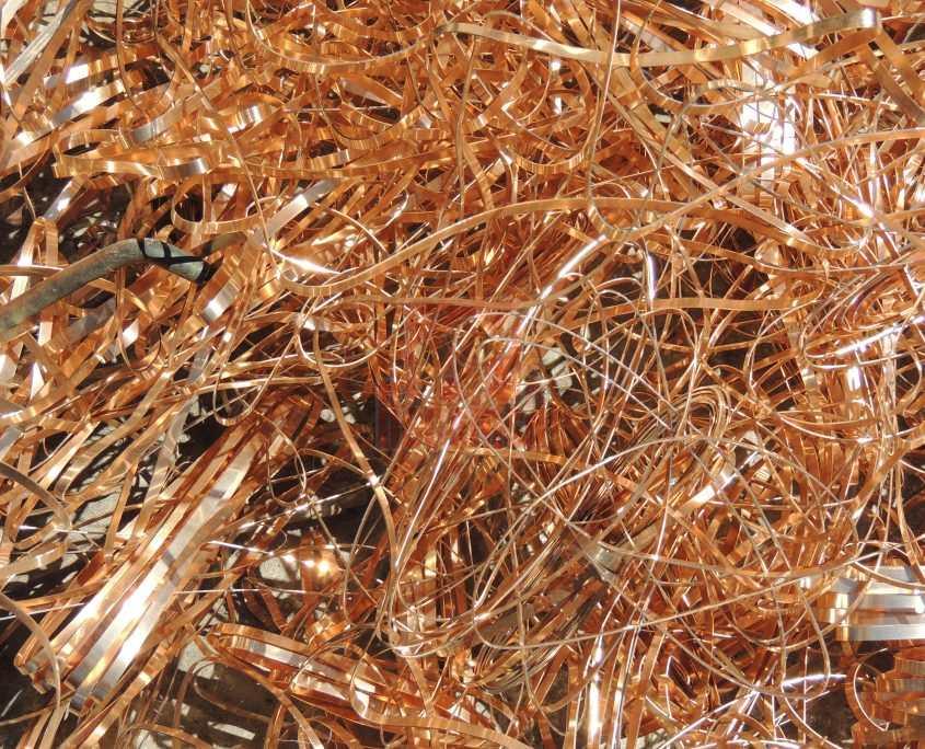 Chatarra de bronce para reciclar en chatarrería Recemsa