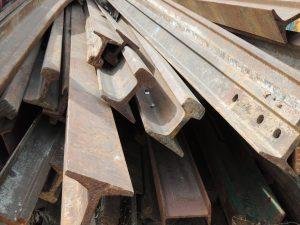 Chatarras de vía de tren