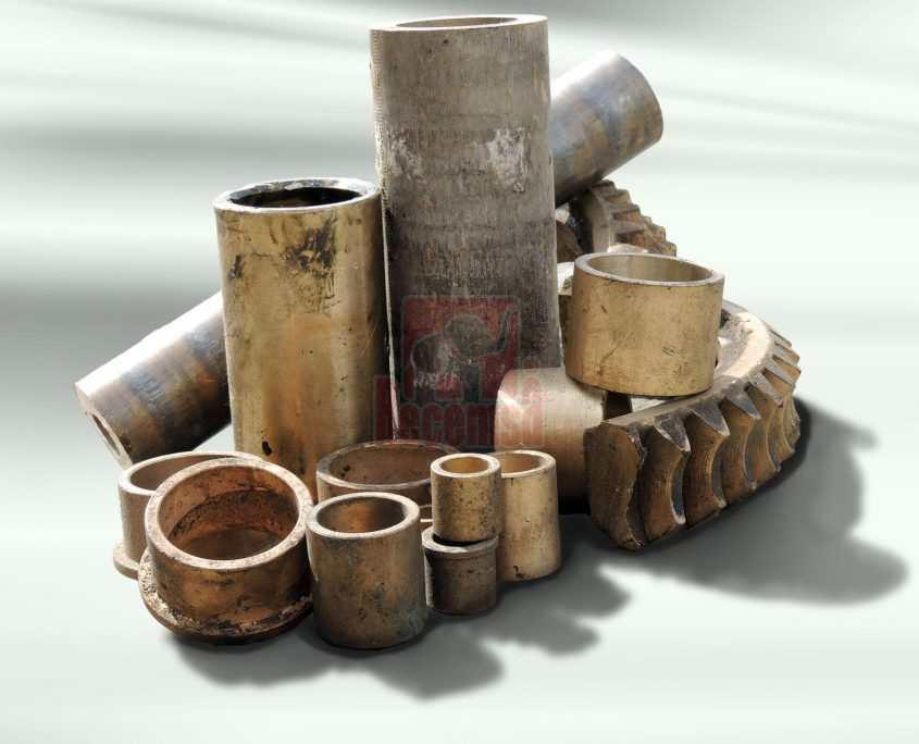 Piezas de chatarra de bronce para reciclar en chatarreria