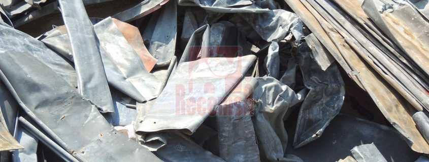 Zinc de demolición para reciclar