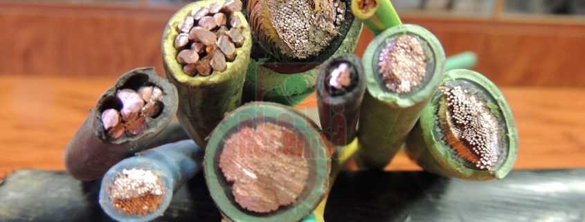 Cables de unipolares para reciclar
