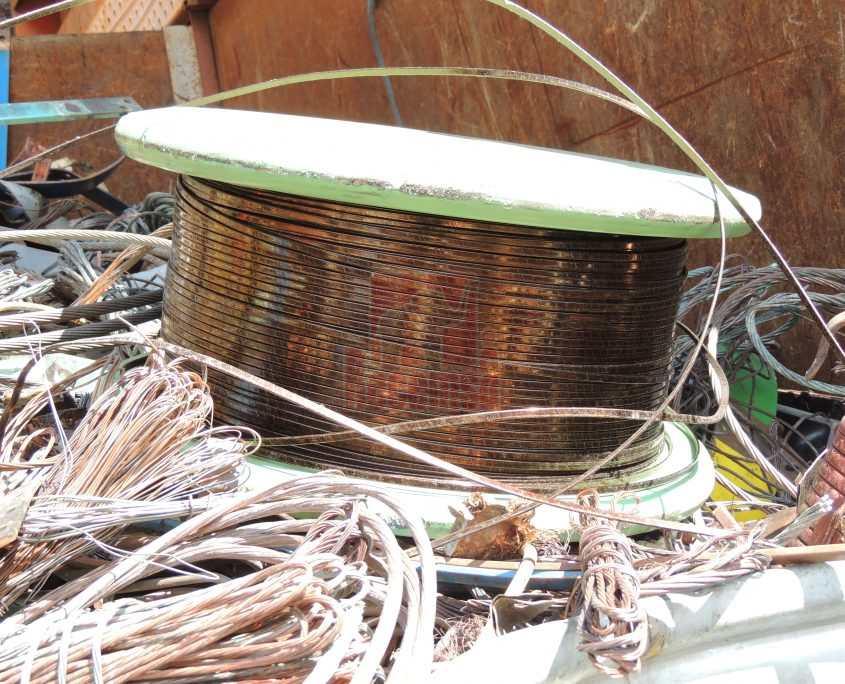 ¿somos propietarios de nuestros residuos? deshechos de cobre