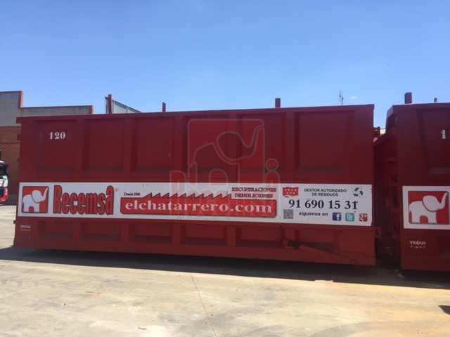 servicio de contenedores de chatarra, Servicio de contenedores, Recemsa, el chatarrero., Recemsa, el chatarrero.