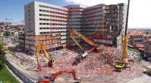 Demolición Hospital Marqués de Valdecilla - Demoliciones y derribos