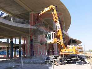 Demolición Pabellón Expo Zaragoza - Demoliciones y derribos