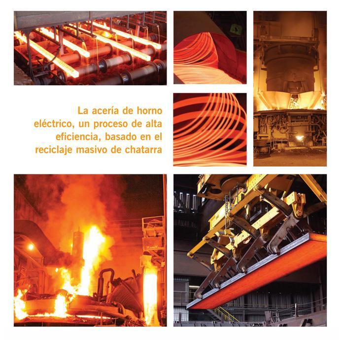 Así está la industria siderúrgica española