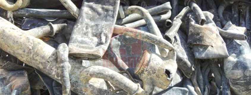 Planchas y tuberías de plomo
