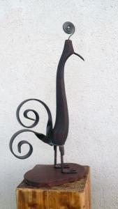 esculturas con materiales reciclados, Arte y naturaleza: el parque español de esculturas con materiales reciclados, Recemsa, el chatarrero., Recemsa, el chatarrero.