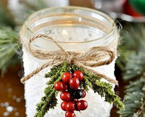 frasco de navidad