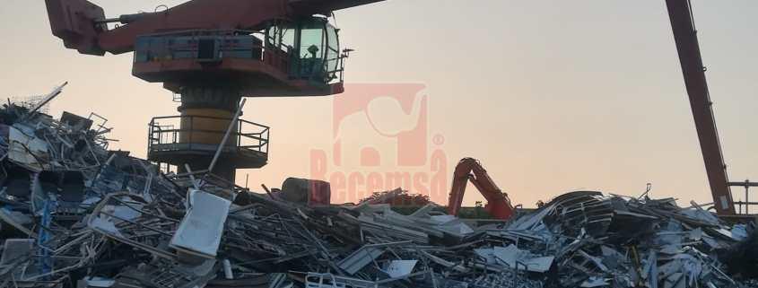 Gestión de residuos, Gestión de residuos como alternativa a la producción de metal, Recemsa, el chatarrero.