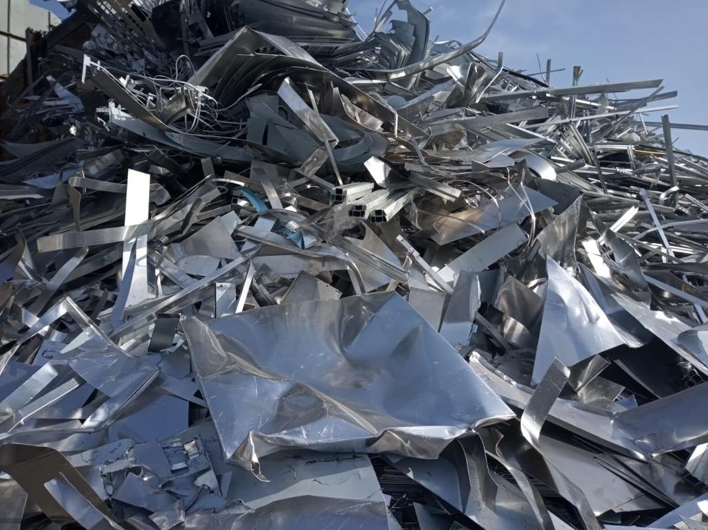 aleaciones de aluminio en chatarra