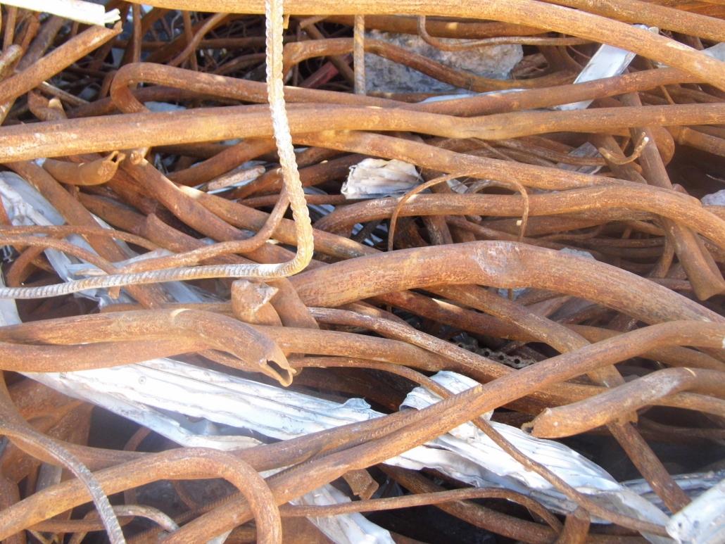 materiales ferrosos en chatarrería